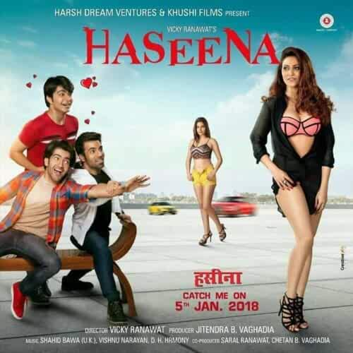 Haseena – The Queen of Heart 2018 Hindi 720p HDRip 700MB