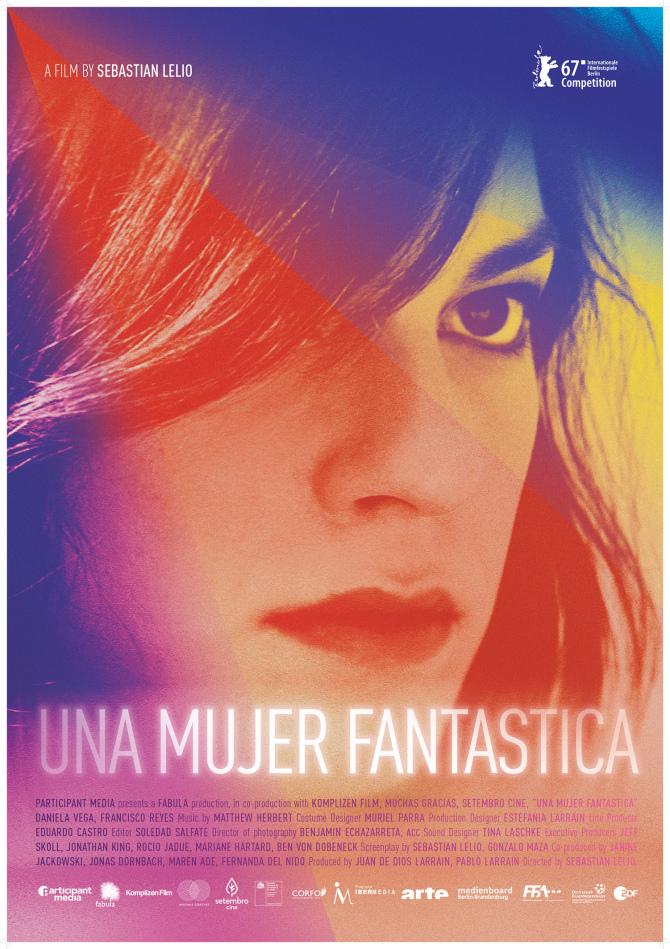 Una mujer fantástica (A Fantastic Women) film poster