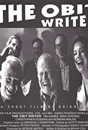 The Obit Writer Poster