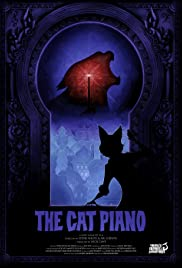 The Cat Piano Poster