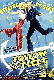 Follow the Fleet Poster