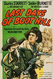 Last Days of Boot Hill Poster