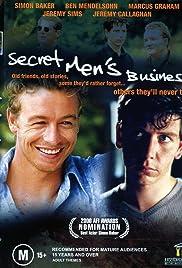 Secret Men's Business Poster