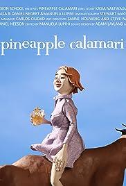 Pineapple Calamari Poster