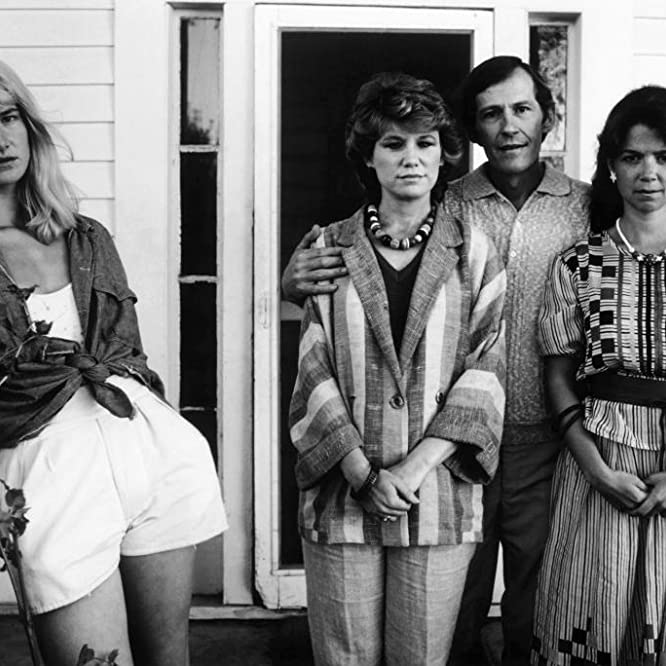 Laura Dern, Elizabeth Berridge, Mary Kay Place, and Levon Helm in Smooth Talk (1985)