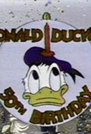 Donald Duck's 50th Birthday Poster
