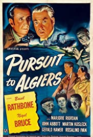 Pursuit to Algiers (1945) Poster - Movie Forum, Cast, Reviews