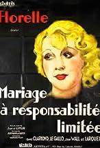 Primary image for Mariage à responsabilité limitée
