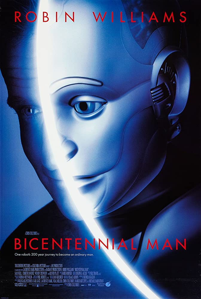 a review of bicentennial man a movie by chris columbus The dude who directed home alone, mrs doubtfire, bicentennial man, and the first two harry potter films weird fit i hate the games but following the journey from shitty unintentionally creepy game no one cared about to movie by chris columbus is insane feb 12, 2018.
