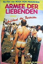 Armee der Liebenden oder Revolte der Perversen Poster
