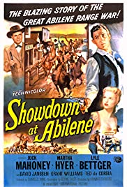 Showdown at Abilene (1956) Poster - Movie Forum, Cast, Reviews