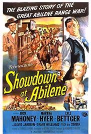 Showdown at Abilene(1956) Poster - Movie Forum, Cast, Reviews