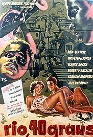 Rio 40 Graus(1955) Poster - Movie Forum, Cast, Reviews