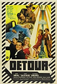 Detour (1945) Poster - Movie Forum, Cast, Reviews