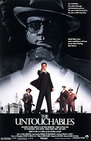 The Untouchables poster