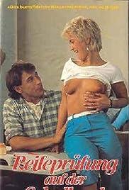 Reifeprüfung auf der Schulbank Poster