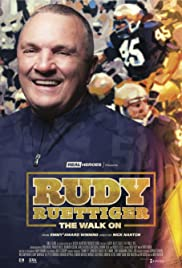 Rudy Ruettiger: The Walk On Poster