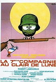 La 7ème compagnie au clair de lune Poster