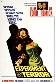 Experiment in Terror (1962) Poster - Movie Forum, Cast, Reviews