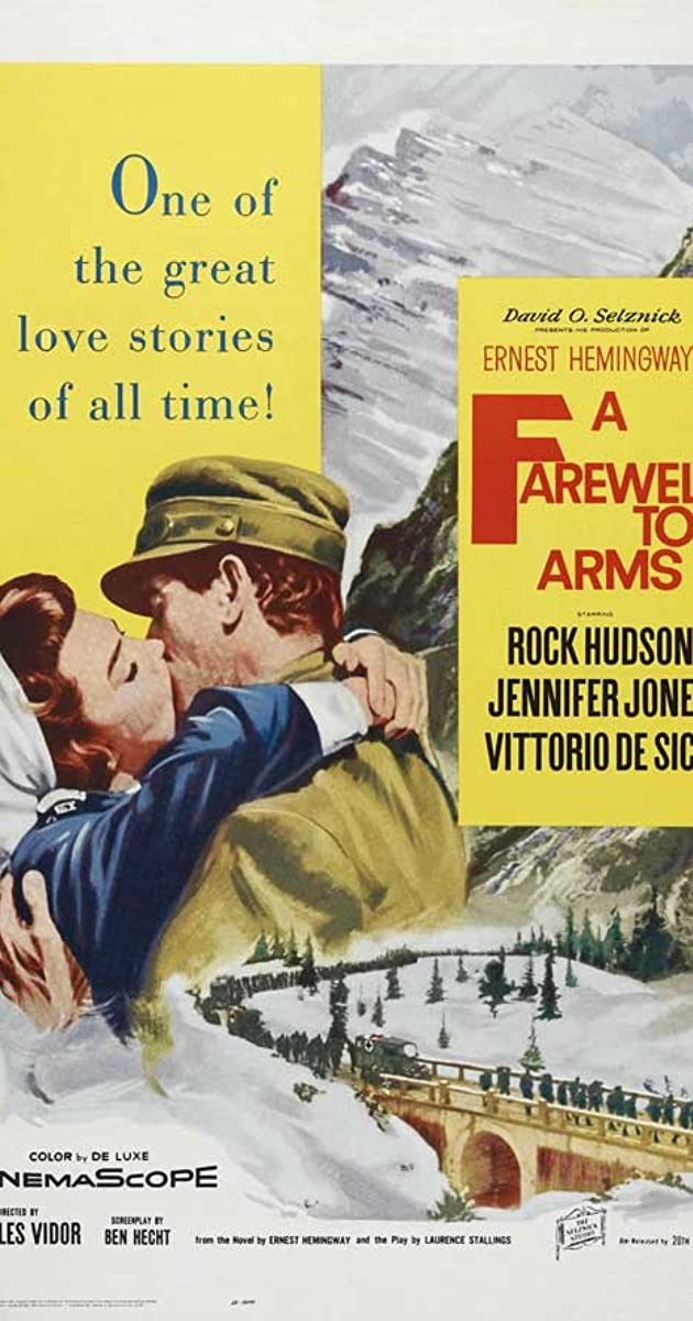 a farewell to arms review A farewell to arms is a novel by ernest hemingway set during the italian campaign of world war i first published in 1929, it is a first-person account of an american.