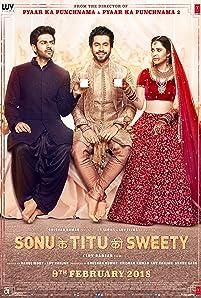 Nushrat Bharucha, Kartik Aaryan, and Sunny Singh Nijjar in Sonu Ke Titu Ki Sweety (2018)