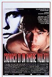 Cronaca di un amore violato Poster