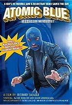 Atomic Blue Mexican Wrestler