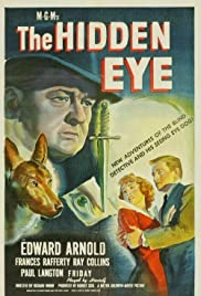 The Hidden Eye (1945) Poster - Movie Forum, Cast, Reviews