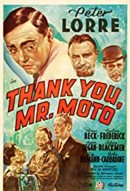 Thank You, Mr. Moto Poster