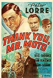 Thank You, Mr. Moto(1937) Poster - Movie Forum, Cast, Reviews
