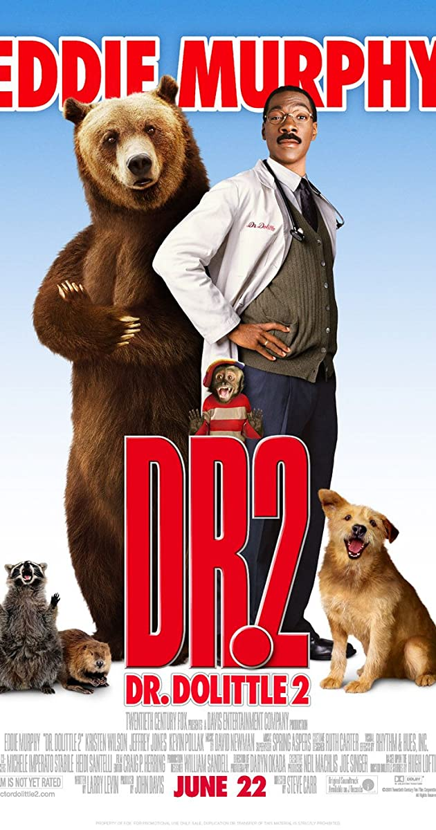 Scary Movie 2 Poster Dr. Dolittle 2 (2001) ...