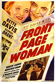 Front Page Woman (1935) Poster - Movie Forum, Cast, Reviews