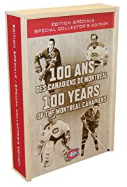 100 Years of the Montreal Canadiens Poster