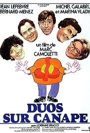 Duos sur canapé Poster