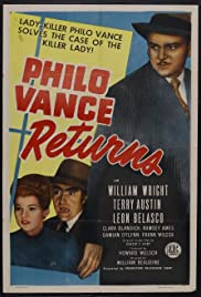 Philo Vance Returns Poster