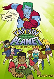Captain Planet and the Planeteers Poster - TV Show Forum, Cast, Reviews