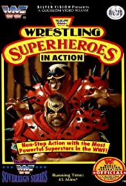 Wrestling Superheroes in Action Poster