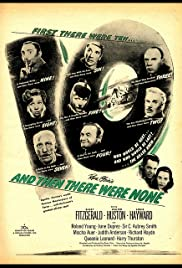 And Then There Were None (1945) Poster - Movie Forum, Cast, Reviews