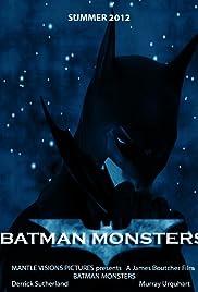 Batman Monsters Poster