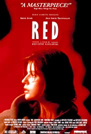 Three Colors: Red Poster