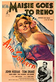 Maisie Goes to Reno (1944) Poster - Movie Forum, Cast, Reviews