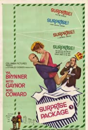 Surprise Package (1960) Poster - Movie Forum, Cast, Reviews
