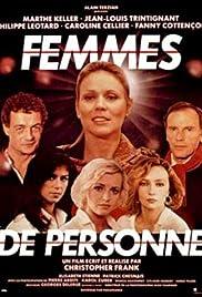 Femmes de personne Poster