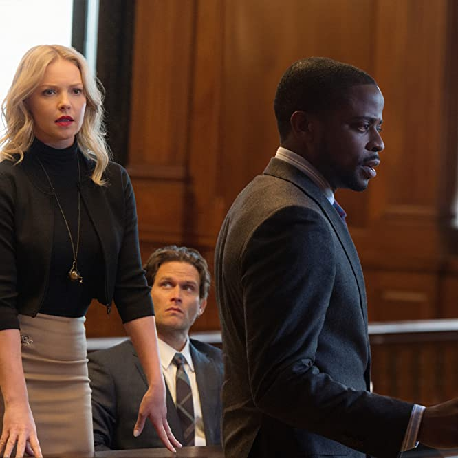 Katherine Heigl, Dulé Hill, and Steven Pasquale in Doubt (2017)