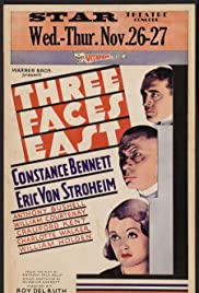 Three Faces East (1930) Poster - Movie Forum, Cast, Reviews