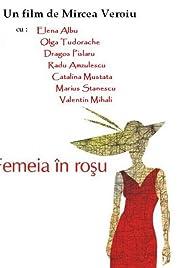 Femeia în rosu Poster