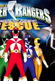 Power Rangers Lightspeed Rescue Poster