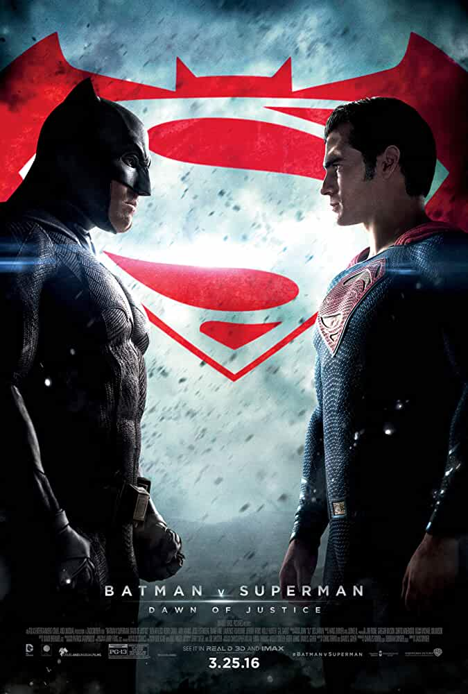 Poster Batman vs Superman (2016) Full HD Movie Download In Hindi Dubbed