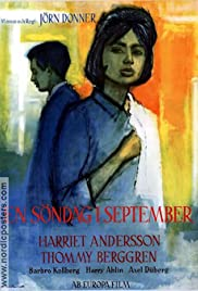 En söndag i september Poster