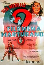 Filomena Marturano Poster